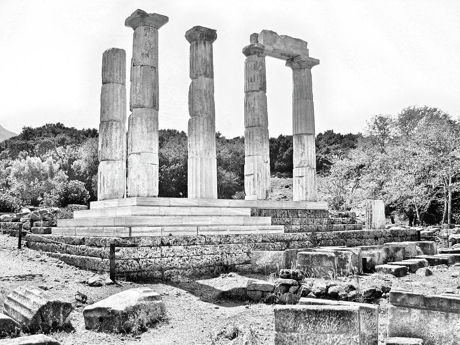 Samothrace Great Gods #05 Photograph