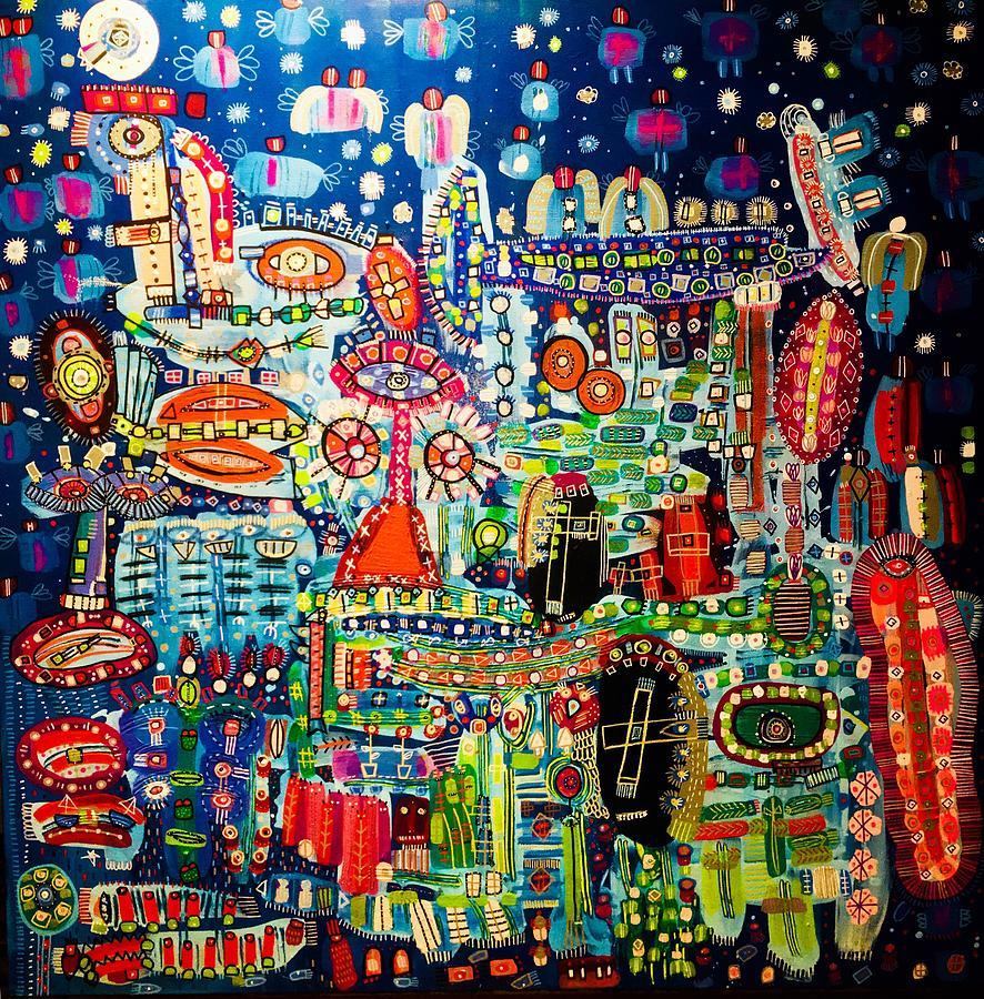 Samsara Painting By Ammy Amorette