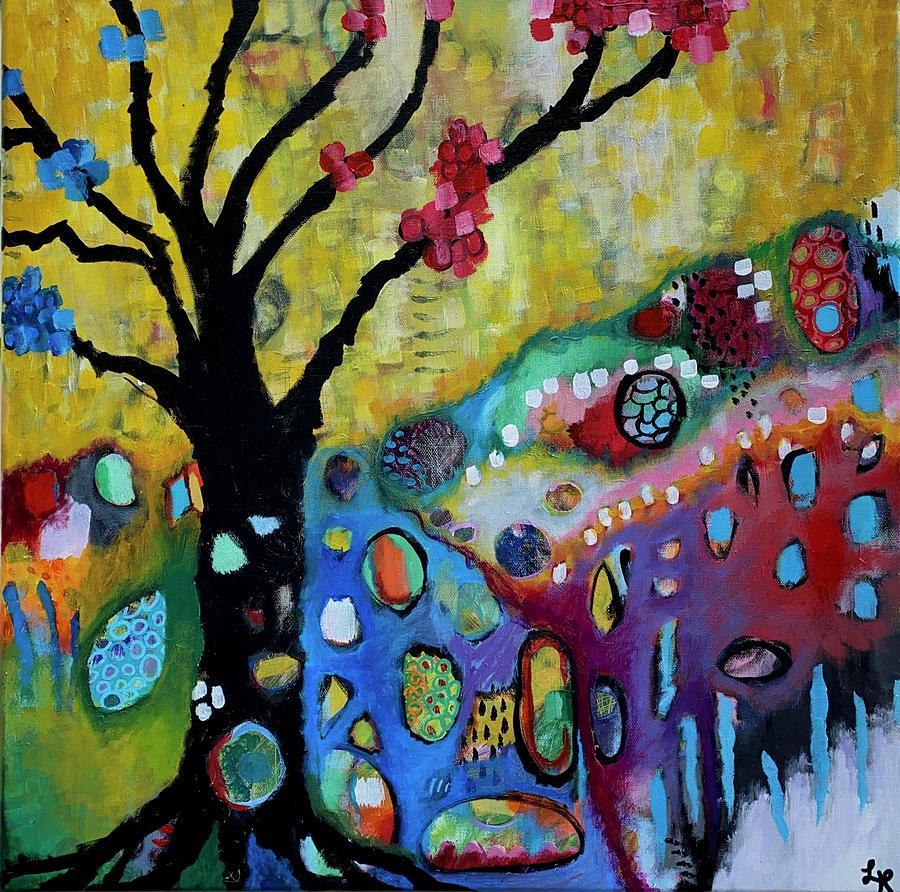 Samsara Painting By Elizabeth Heichelbech