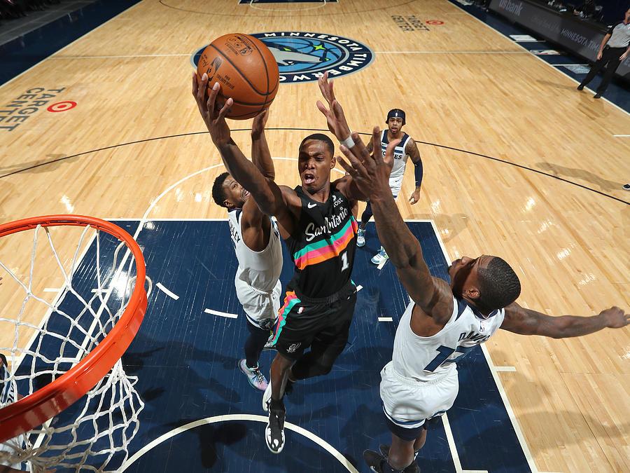 San Antonio Spurs v Minnesota Timberwolves Photograph by Jordan Johnson