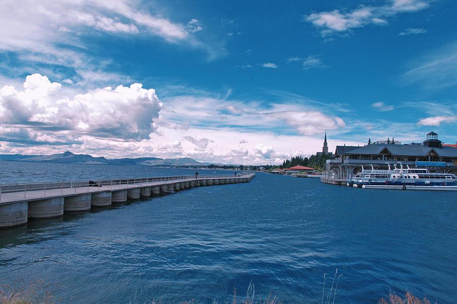 San Carlos Port, Bariloche Photograph by Marcos Radicella