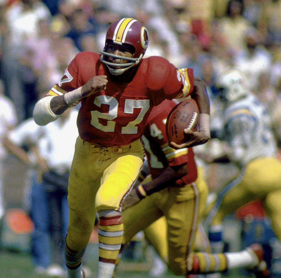 San Diego Chargers vs Washington Redskins - September 16, 1973 Photograph by Tony Tomsic