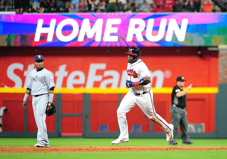 San Diego Padres v Atlanta Braves Photograph by Scott Cunningham