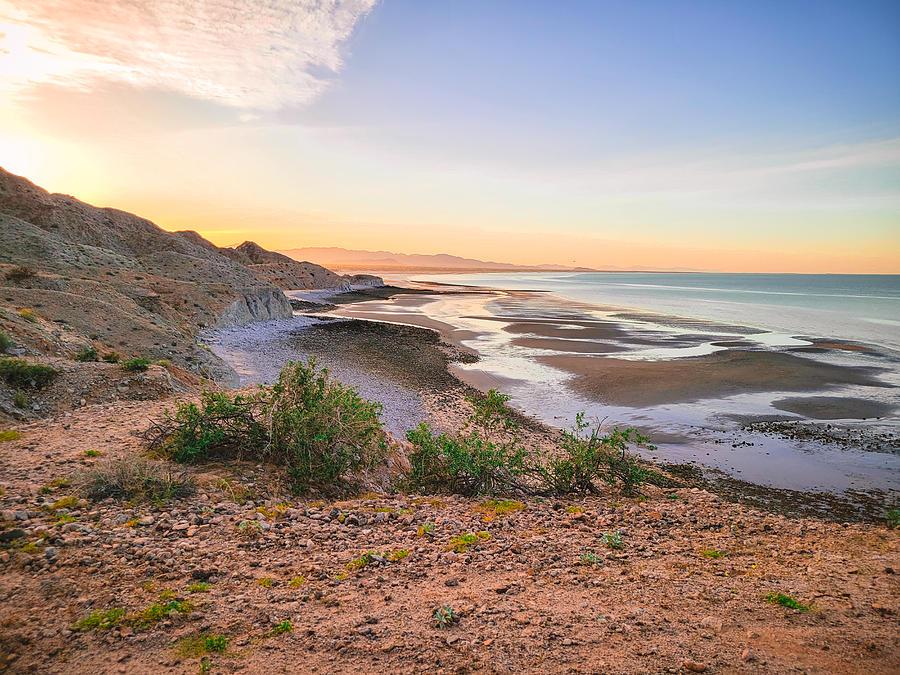 San Felipe Sunset Photograph