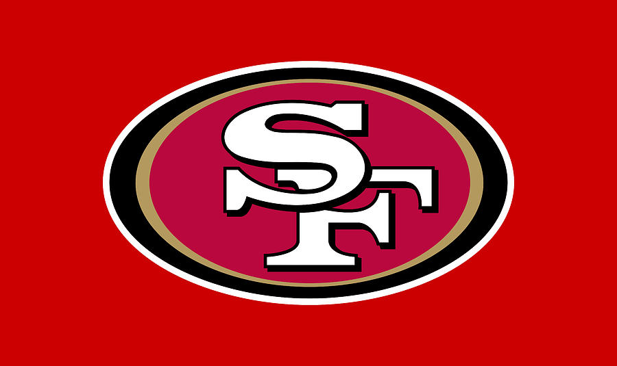 San Francisco 49ers logo Digital Art by Red Veles