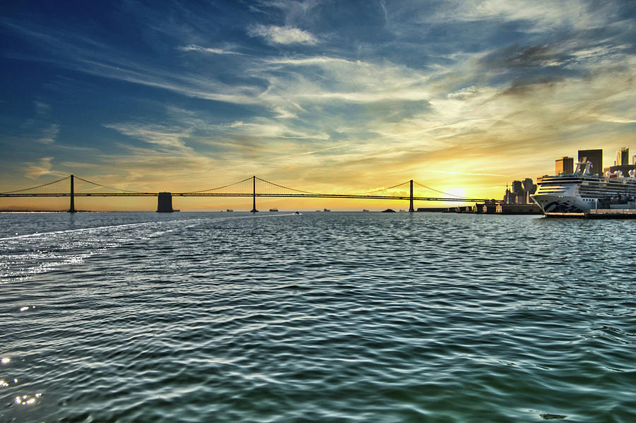 San Francisco Bay by James L Bartlett