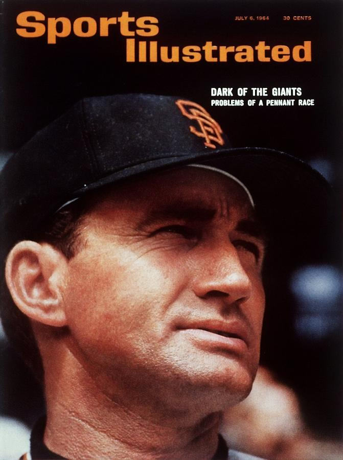 San Francisco Giants Manager Alvin Dark, 1963 All Star Game Sports Illustrated Cover Photograph by Sports Illustrated