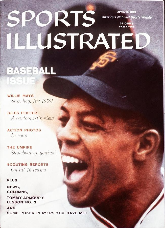 San Francisco Giants Willie Mays Sports Illustrated Cover Photograph by Sports Illustrated