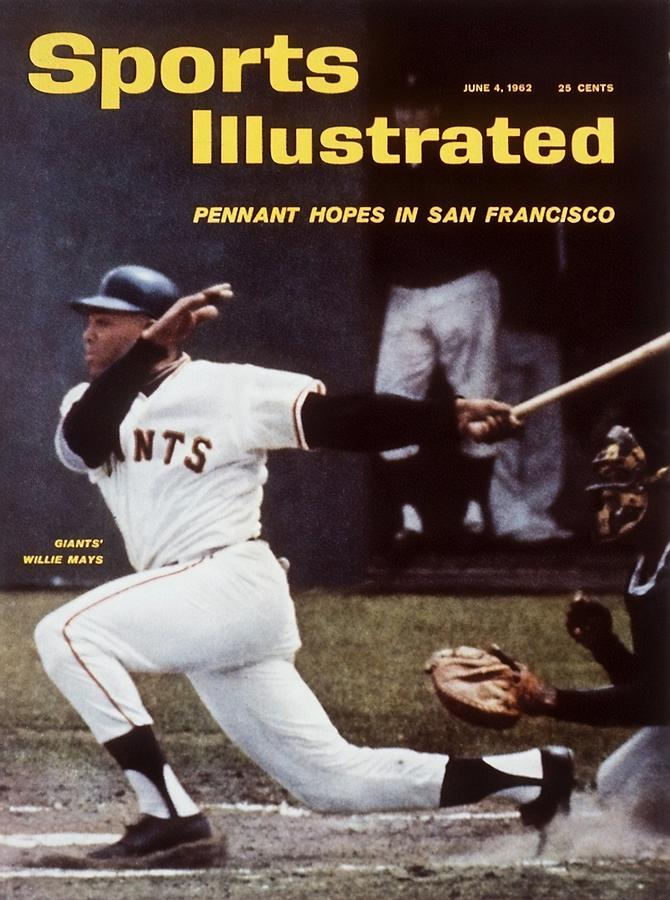 San Francisco Giants Willie Mays... Sports Illustrated Cover Photograph by Sports Illustrated