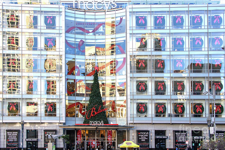 San Francisco Macys Christmas Holiday Department Store R1844 by San Francisco