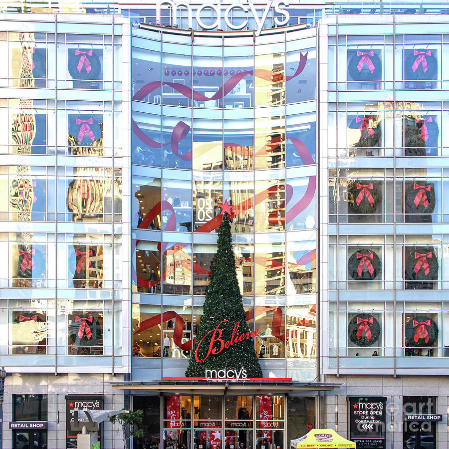 San Francisco Macys Christmas Holiday Department Store R1844 square by San Francisco