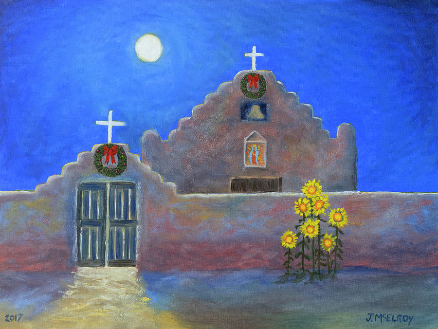 San Geronimo Christmas by Jerry McElroy