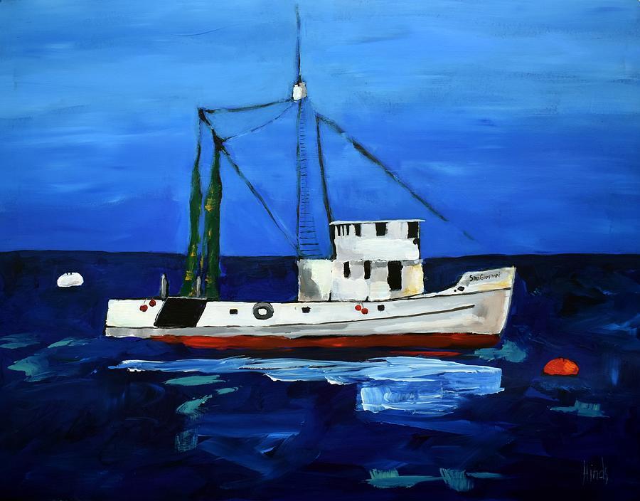 San Giovanni On Monterey Bay Painting