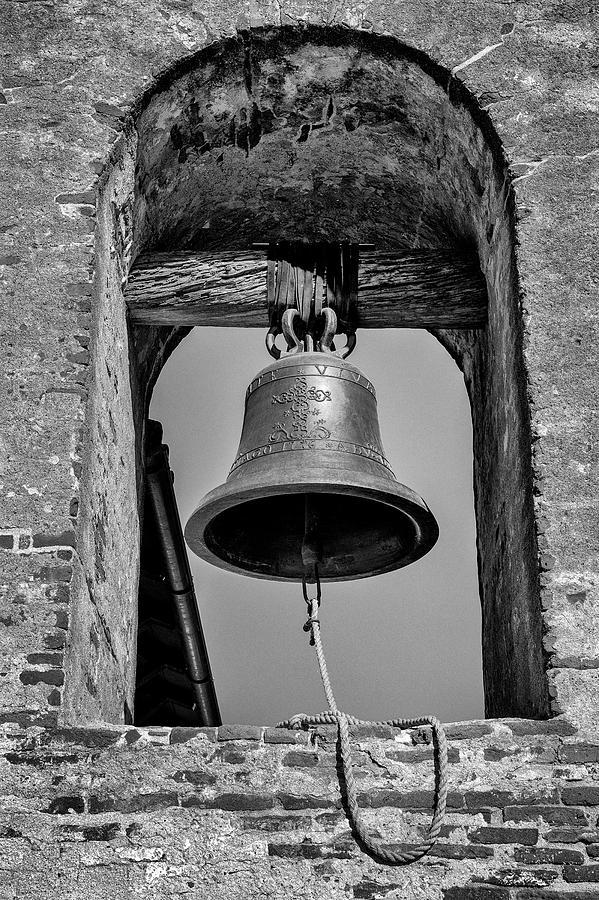 San Juan Capistrano Bell Photograph