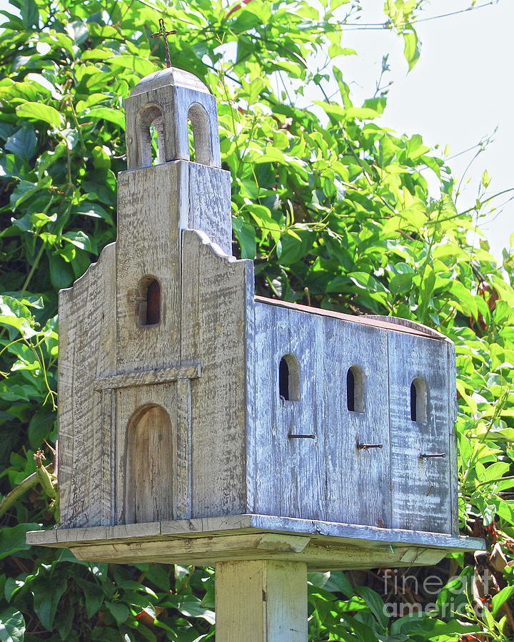 San Juan Capistrano Mission Birdhouse Photograph