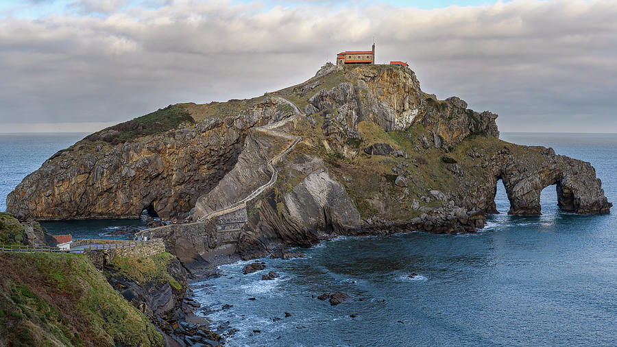 San Juan De Gaztelugatxe Near Bilbao Spain Photograph