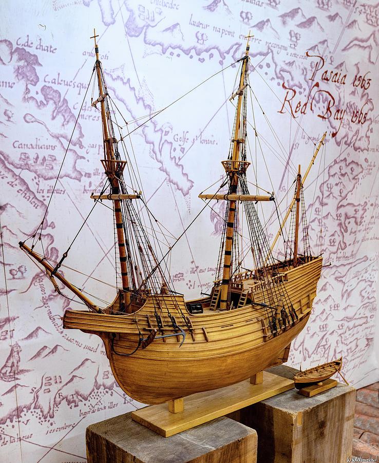 San Juan Galleon 02 by Weston Westmoreland