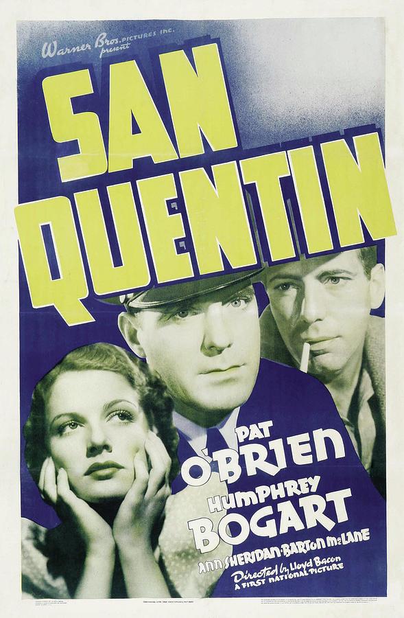 san Quentin, With Humphrey Bogart, 1937 Mixed Media