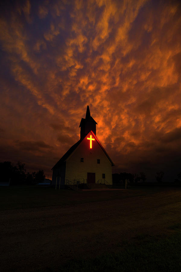 Church Photograph - Sanctified by Aaron J Groen