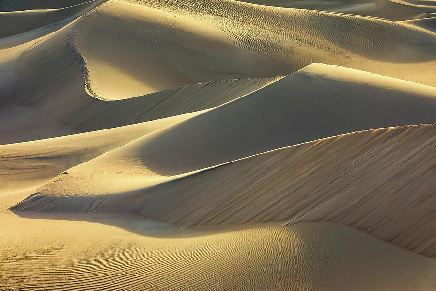 Sand And Light Photograph