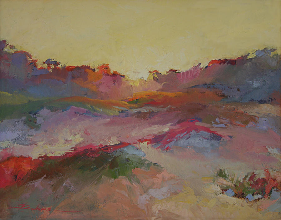 Sand Dunes Painting - Sand Dunes by Betty Jean Billups