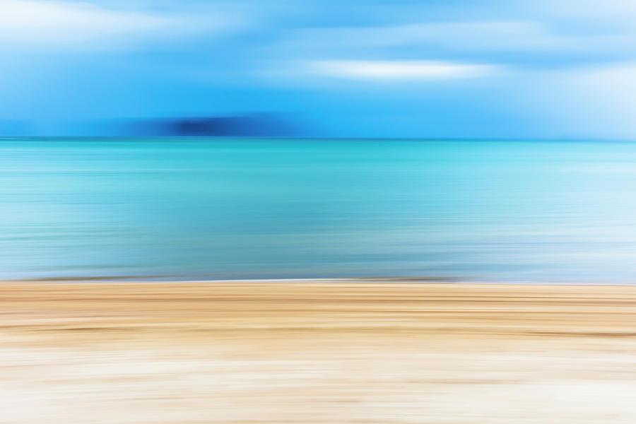 Sand, Sea, Sky Photograph