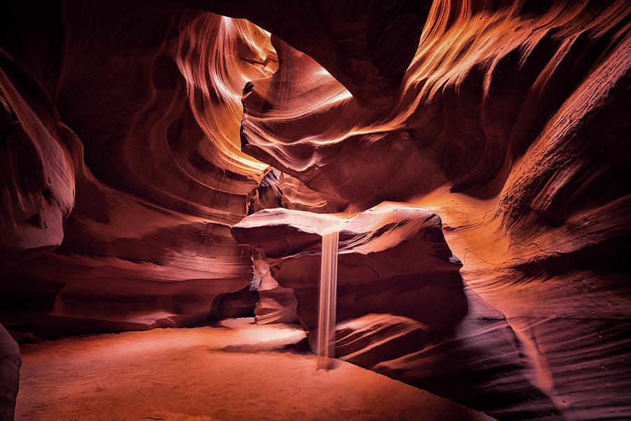 Arizona Photograph - Sandfall by Framing Places