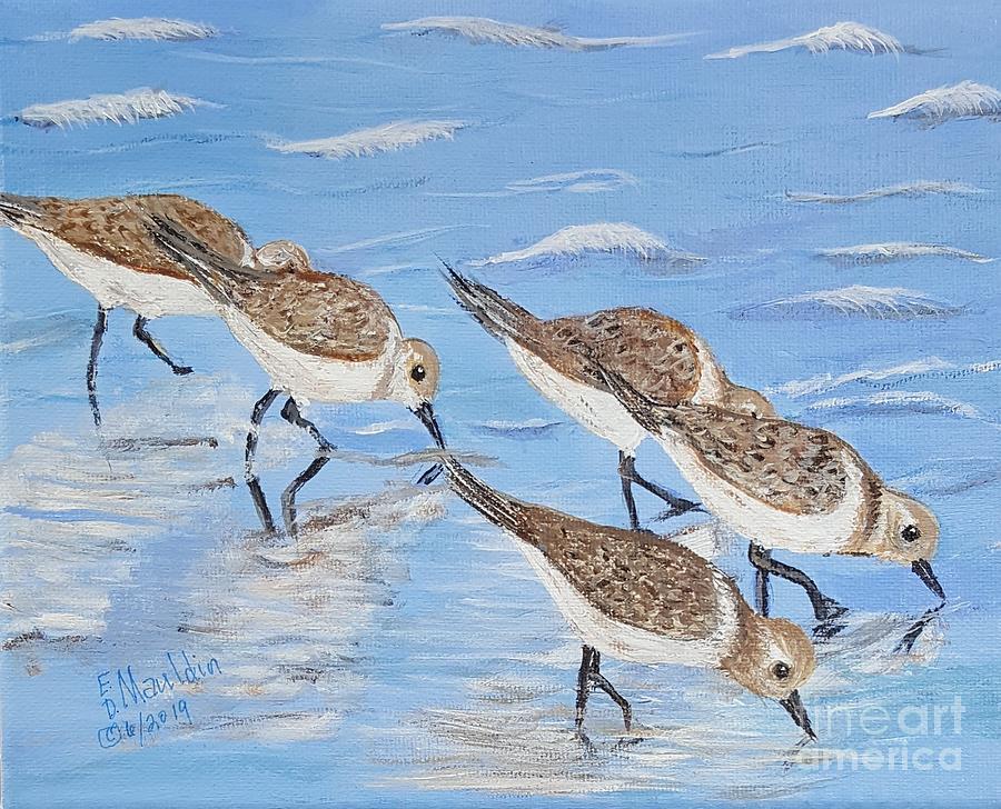 Sandpipers by Elizabeth Dale Mauldin