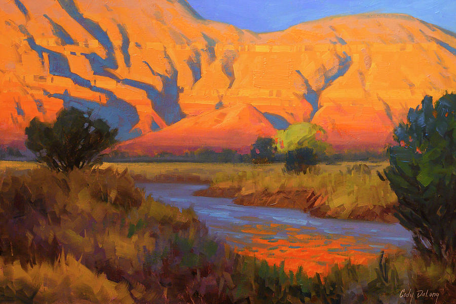 Sandstone Reflected Painting