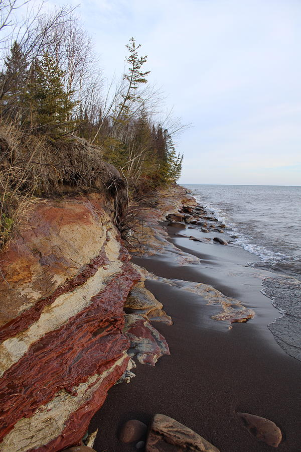 Sandstone Shoreline Photograph