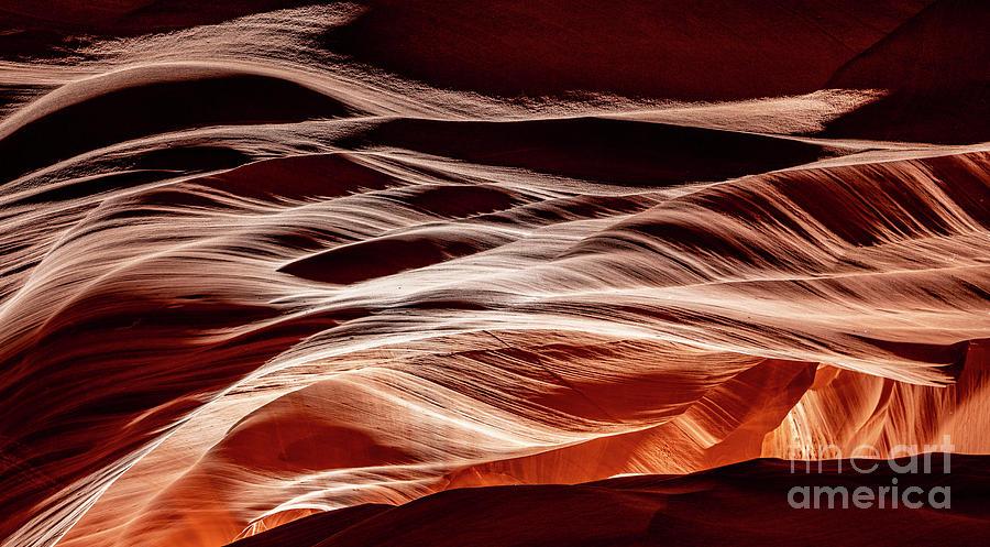 Sandstone Waves Antelope Canyon Arizona by Dustin K Ryan