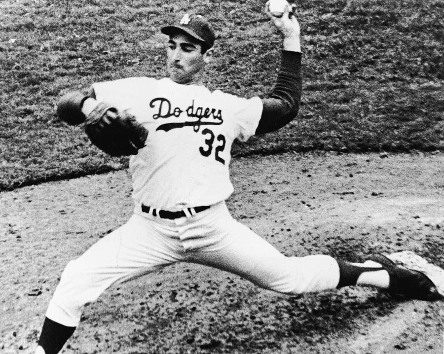 Sandy Koufax Photograph by American Stock Archive