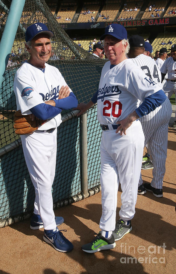 Sandy Koufax and Don Sutton Photograph by Stephen Dunn