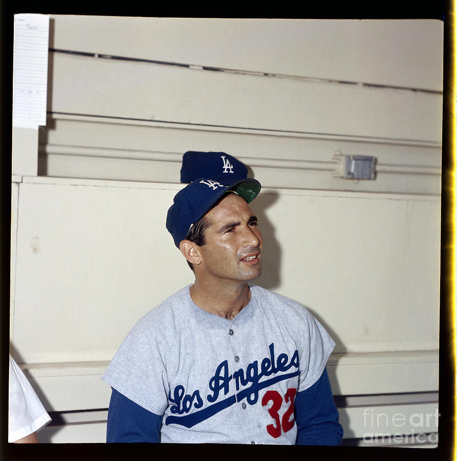 Sandy Koufax Photograph by Louis Requena
