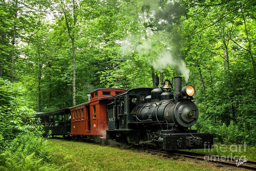 Sandy River Railroad Photograph