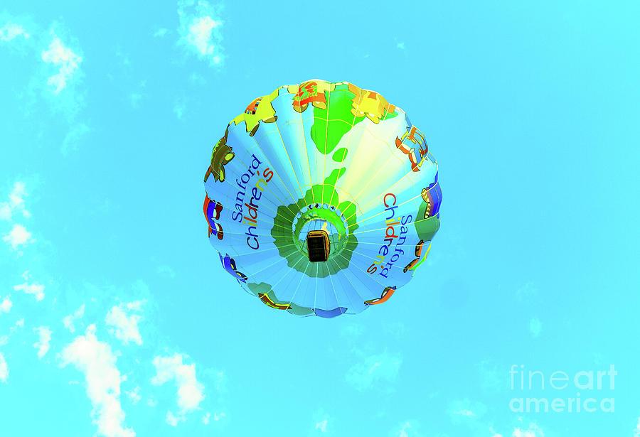 Hot Air Balloon Photograph - Sanford Childrens Balloon by Jeff Swan