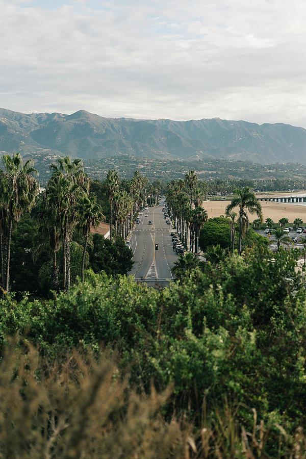 California Photograph - Santa Barbara West Beach And Pier by Julius Thomas