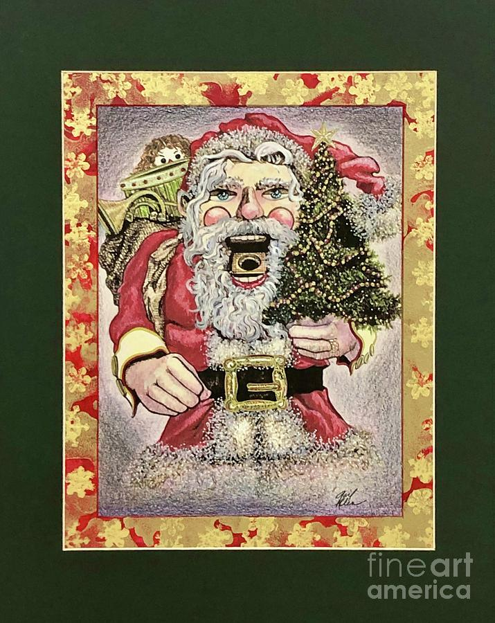 Santa Christmas Nutcracker #5 by Gail Allen
