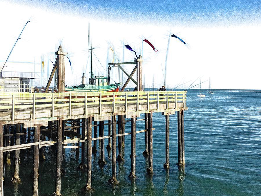 Santa Cruz Fishing Photograph