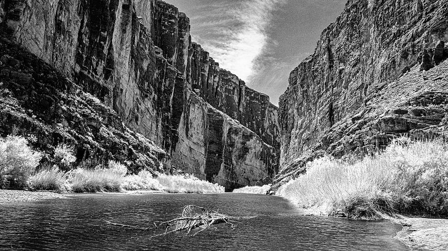 Big Bend National Park Photograph - Santa Elena Canyon Opening by Jim Cook