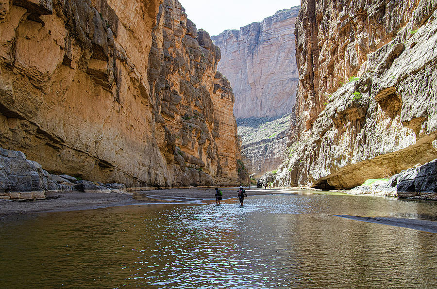 Big Bend National Park Photograph - Santa Elena Canyon Trail by Jim Cook