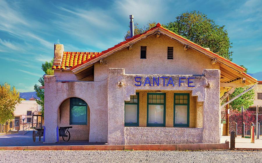 Santa Fe Photograph - Santa Fe Station by Stephen Anderson