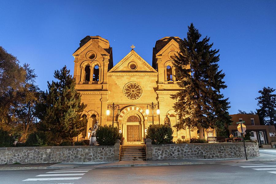 Santa Fe The Cathedral Basilica Photograph