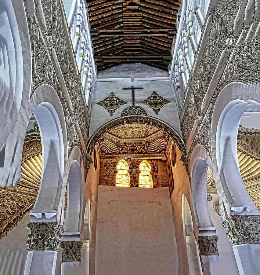 Santa Maria la Blanca # 2 - Toledo Spain by Allen Beatty