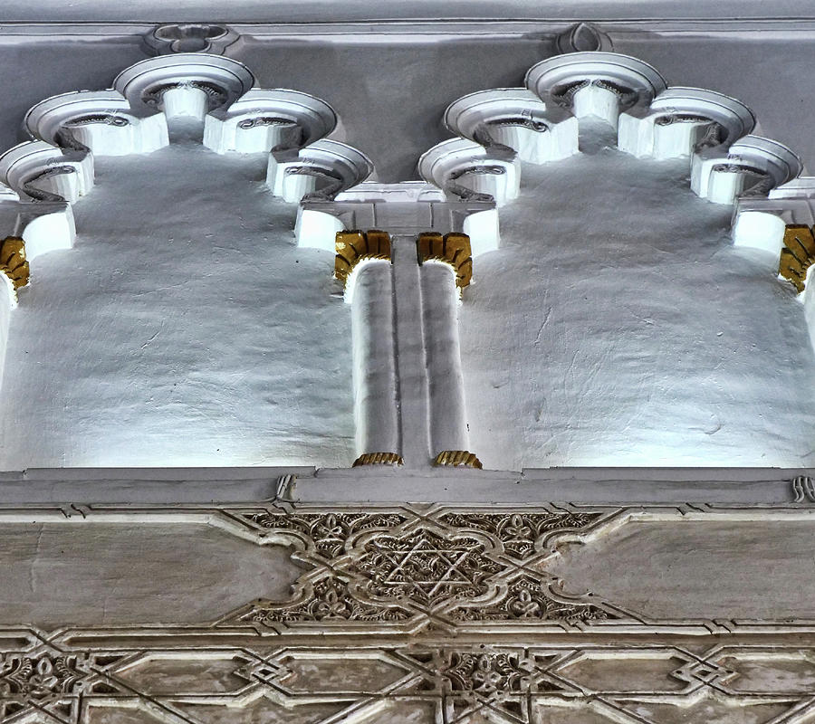 Santa Maria La Blanca # 6 - Toledo Spain Photograph