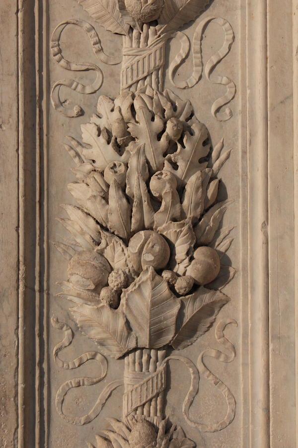 Italian Architecture Photograph - Santa Maria Novella, Architectural Detail, Florence, Italy by Noe Badillo