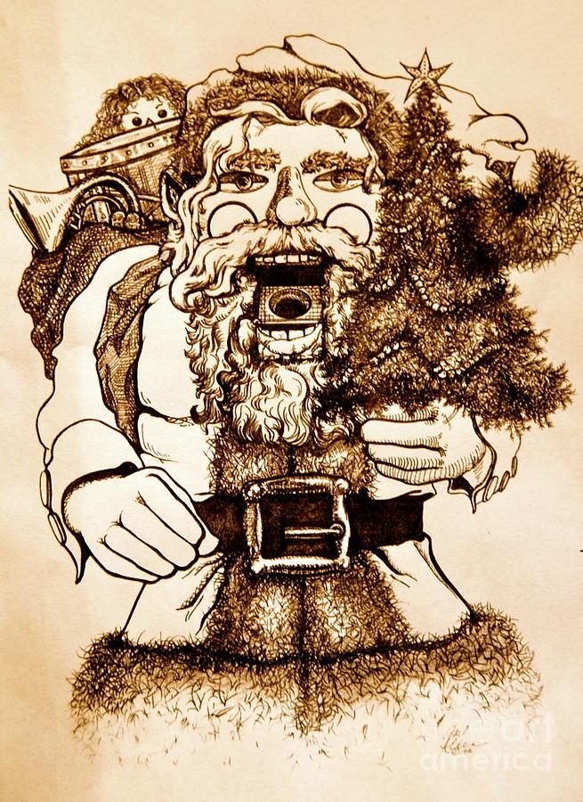 Santa Nutcracker  by Gail Allen