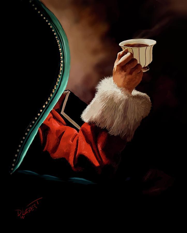 Santas Coffee by David Luebbert