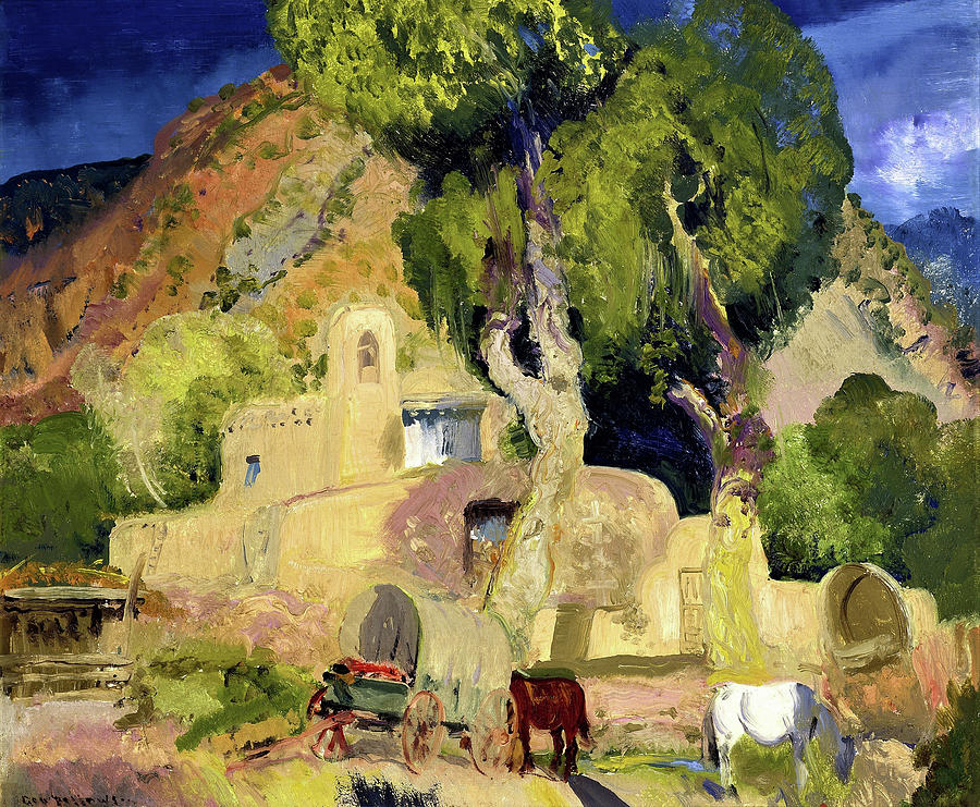 George Wesley Bellows Painting - Santuario De Chimata - Digital Remastered Edition by George Wesley Bellows