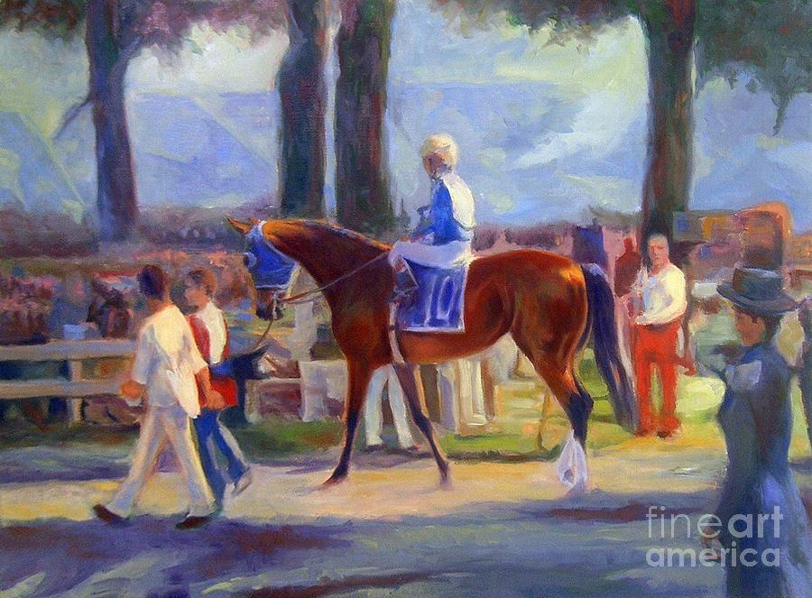 Saratoga Morning Painting